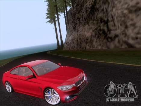 BMW F32 4 series Coupe 2014 para GTA San Andreas vista direita