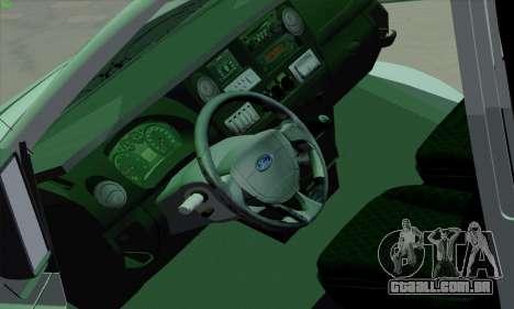 Ford Transit Jumgo para GTA San Andreas interior