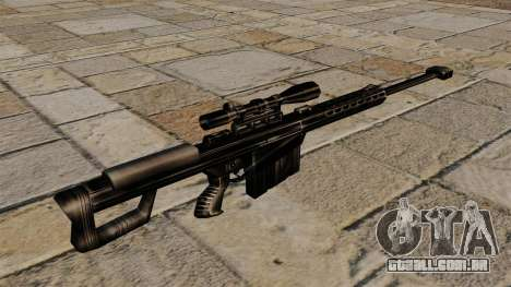 O Barrett M82 sniper rifle para GTA 4 segundo screenshot