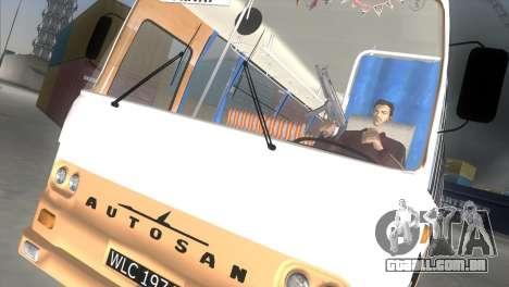 Autosan H9-21 para GTA Vice City vista traseira esquerda