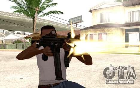 UMP 45 para GTA San Andreas terceira tela