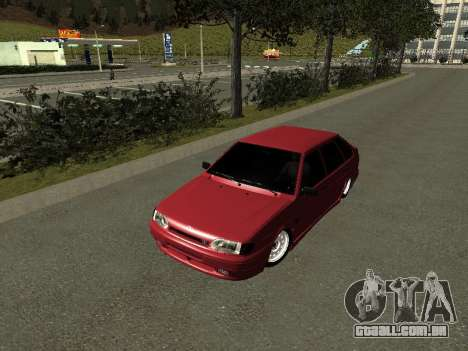 ВАЗ 2114 BPAN para GTA San Andreas esquerda vista