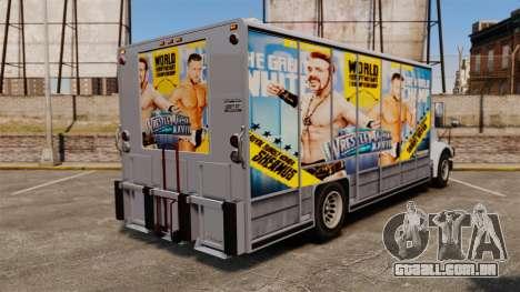Estrelas do wrestling Benson para GTA 4 traseira esquerda vista