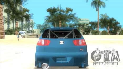 Seat Ibiza GT para GTA Vice City deixou vista