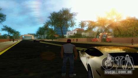 Novas estradas Starfish Island para GTA Vice City por diante tela
