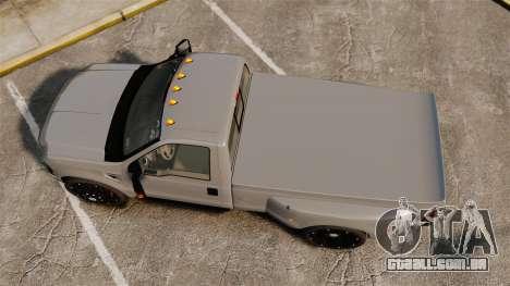 Ford F-350 Pitbull v2.0 para GTA 4 vista direita