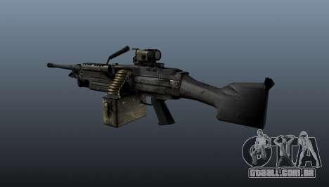A metralhadora M249 luz para GTA 4 segundo screenshot