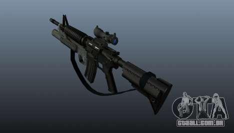 Carabina automática M4A1 v2 para GTA 4 segundo screenshot