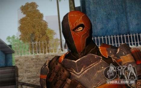 Deathstroke from Batman: Arkham Origins para GTA San Andreas