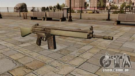 Espingarda automática HK G3 para GTA 4