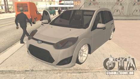 Ford Fiesta Rocam Edit para GTA San Andreas
