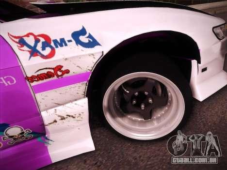 Nissan S13 Burst para GTA San Andreas interior
