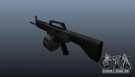 Espingarda Daewoo USAS-12 para GTA 4 segundo screenshot