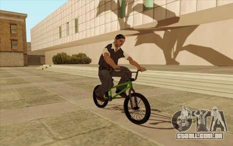 BMX para vista lateral GTA San Andreas