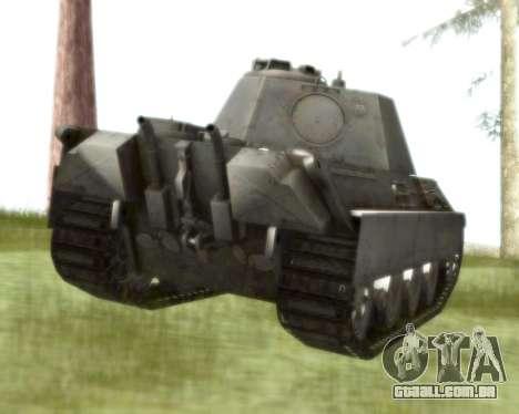 Pzkpfw V Panther II para GTA San Andreas vista direita