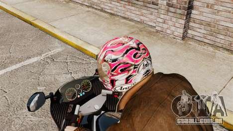 Uma coleção de capacetes Arai v2 para GTA 4 por diante tela