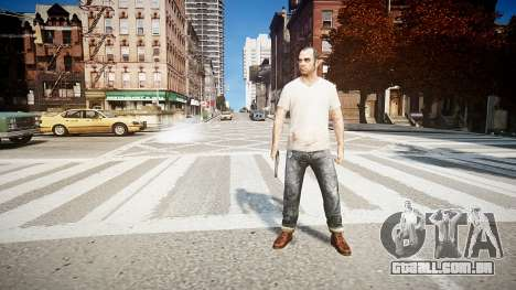 Trevor Fillips from GTA V para GTA 4 por diante tela