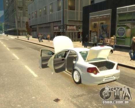 GAZ Volga Sajber para GTA 4 vista direita