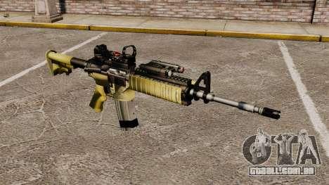 Automático M4 Red Dop v2 para GTA 4