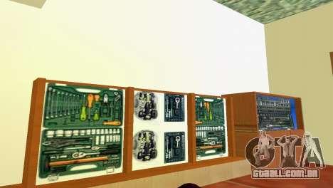Loja de ferramentas para GTA Vice City terceira tela