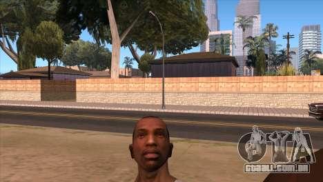 A câmera em GTA V para GTA San Andreas