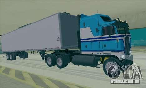 Kenworth K100 para GTA San Andreas esquerda vista