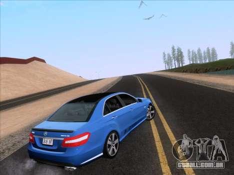 Mercedes-Benz E63 AMG 2011 Special Edition para GTA San Andreas esquerda vista