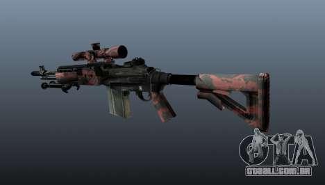Rifle sniper M21 Mk14 v5 para GTA 4 segundo screenshot