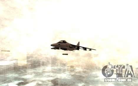 O novo míssil para GTA San Andreas segunda tela