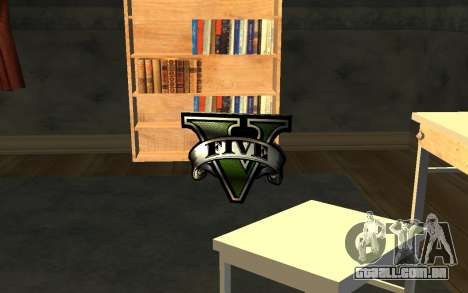 GTA V Save Icon para GTA San Andreas por diante tela