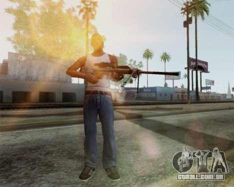 Rifle sniper em chamar de dever MW2 para GTA San Andreas segunda tela