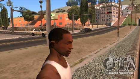 A câmera em GTA V para GTA San Andreas segunda tela