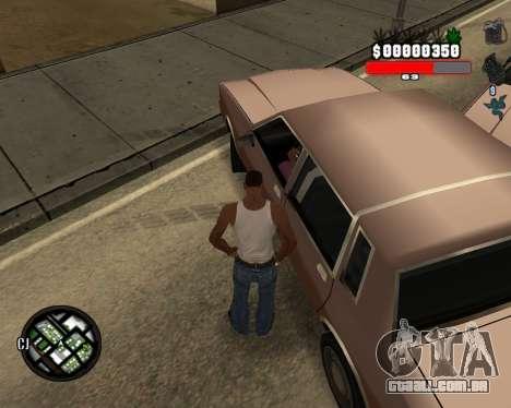 C-Hudik para GTA San Andreas segunda tela