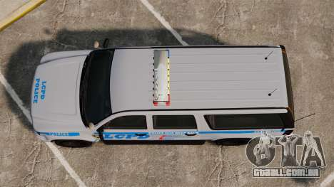 GTA V Declasse Police Ranger 3500PE [ELS] para GTA 4 vista direita