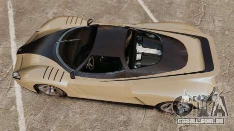 GTA V Grotti Cheetah para GTA 4 vista direita