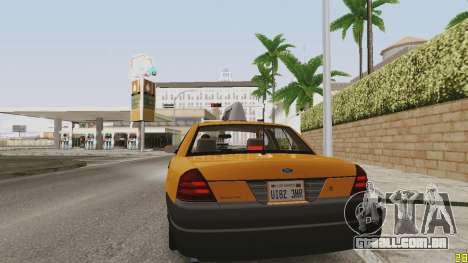 ENB ensolarado para PCs de baixo ou médios para GTA San Andreas