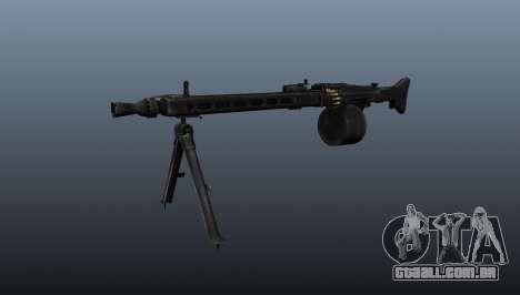 De uso geral da metralhadora MG-3 para GTA 4