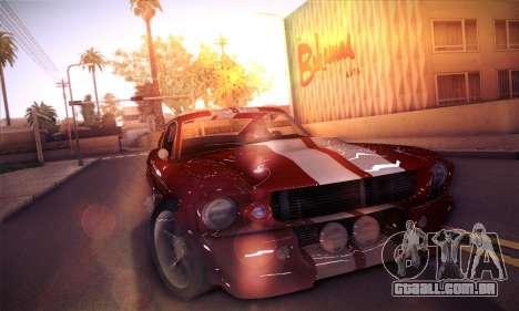 Shelby GT500 E v2.0 para GTA San Andreas esquerda vista