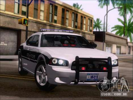 Dodge Charger San Andreas State Trooper para as rodas de GTA San Andreas