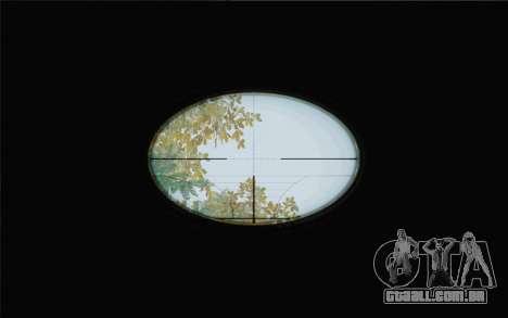 Enhanced Sniper Scope v1.1 para GTA San Andreas segunda tela