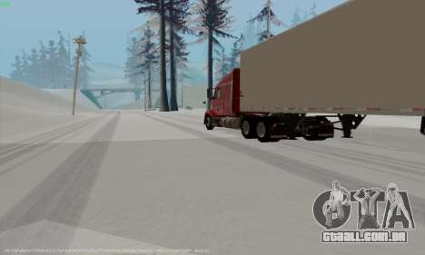 Volvo VNL 630 para GTA San Andreas vista direita