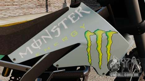 Sanchez Monster Energy para GTA 4 vista direita