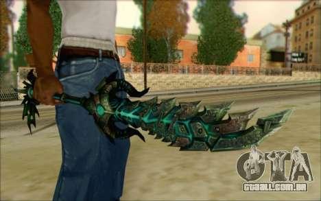 Souldrinker para GTA San Andreas segunda tela