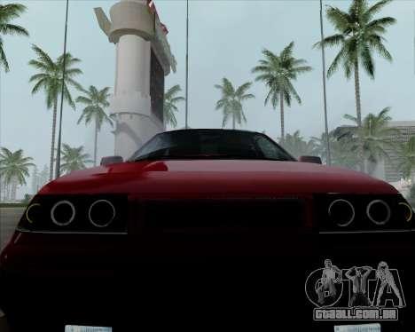 VAZ 2110 v2 para vista lateral GTA San Andreas