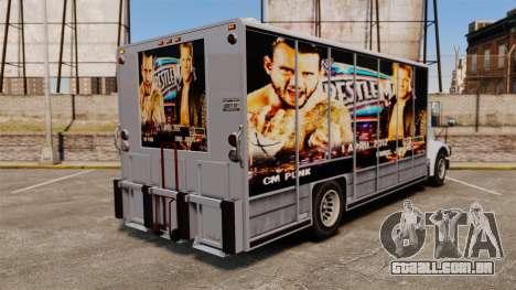 Estrelas do wrestling Benson para GTA 4 esquerda vista