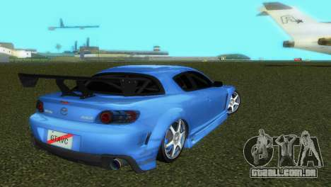 Mazda RX8 Type 1 para GTA Vice City vista superior