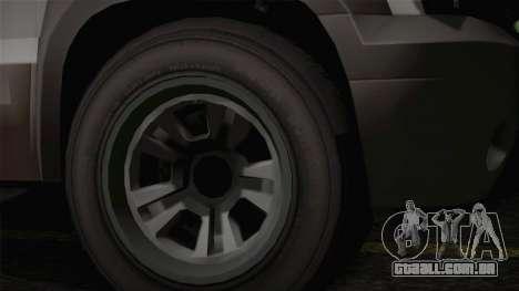 Granger Civil de GTA 5 para GTA San Andreas vista direita