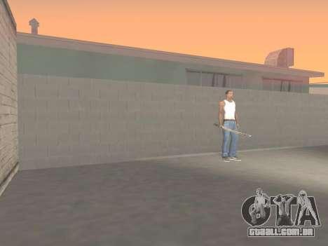 CSO Katana para GTA San Andreas sexta tela