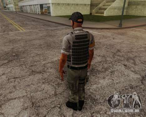 Mercenário de Far Cry 3 para GTA San Andreas segunda tela