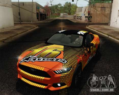 Ford Mustang GT 2015 para as rodas de GTA San Andreas
